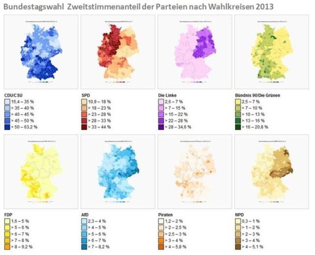 Politische Vielfalt in Deutschland