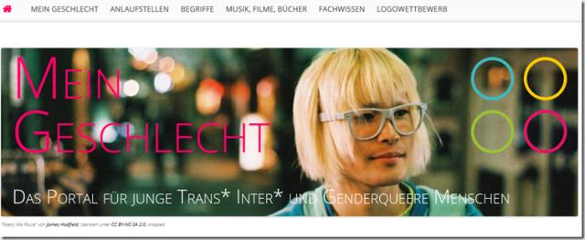 Webportal LSBTIQ, LGBTIQ