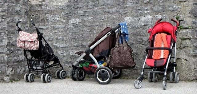 Kinderwagenbegegnungen ...