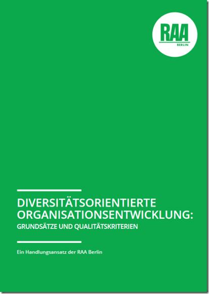 Diversitätsorientierte Organisationsentwicklung Broschüre
