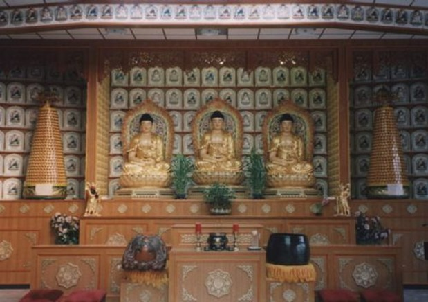 Buddhistischer Tempel in Berlin