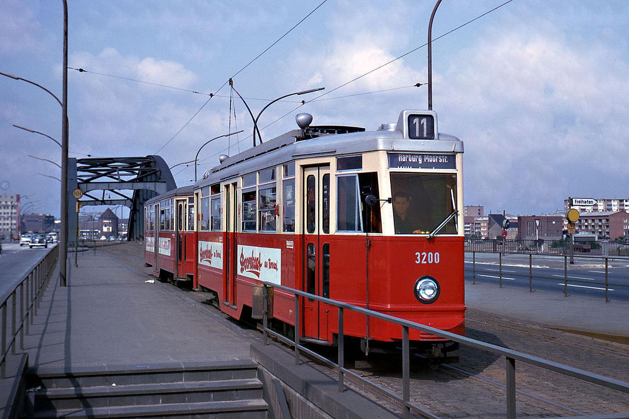 Die letzte Fahrt der Straßenbahn – HARBURG 1971