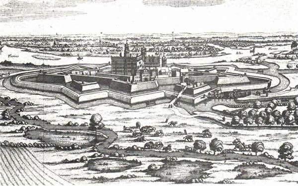 Harburger-Schloss_Festung-Harburg-1654-Elbe
