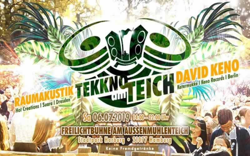 TEKKNO am Teich | OPEN AIR im Harburger Stadtpark