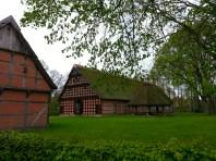 Hofanlage Quatmann aus Elsten, erbaut 1803-1806 im Museumsdorf Cloppenburg. Foto: Wera Wecker