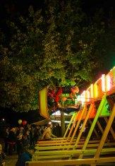 Der historische Jahrmarkt gehört zu den Höhepunkten im Freilichtmuseum am Kiekeberg. Foto: Wera Wecker