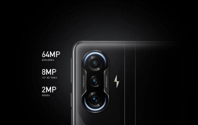 kamera 64 MP redmi k40 gaming