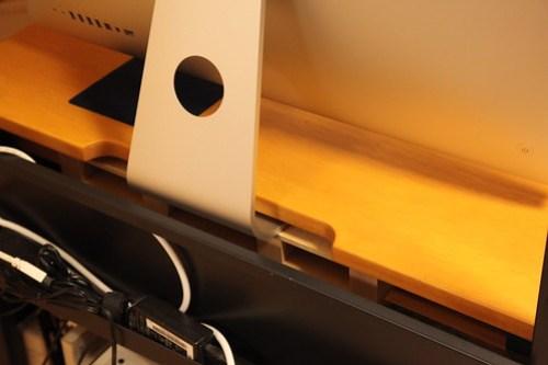 iMac 27-inch i7(Late 2009) 高さ最適化