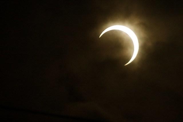 Annular eclipse Mar.21,2012 at Yokohama,Japan