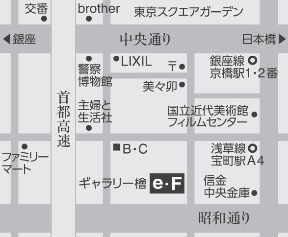 ギャラリー檜e・F map