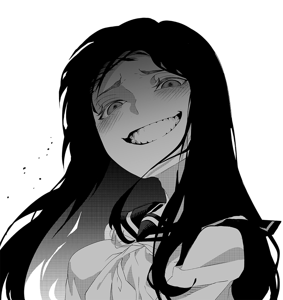A Story About a Creepy Girl's Smile Chapter 03 Bahasa Indonesia Bahasa Indonesia