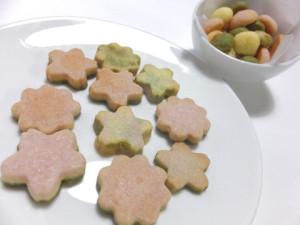 三色クッキー