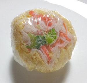お花見弁当 手まり寿司 カニカマ