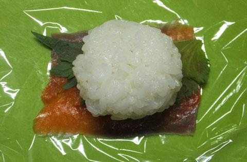 お花見弁当 手まり寿司