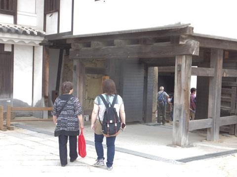 姫路城 備前門