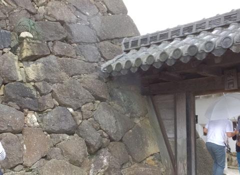 姫路城 石垣 姥ヶ石