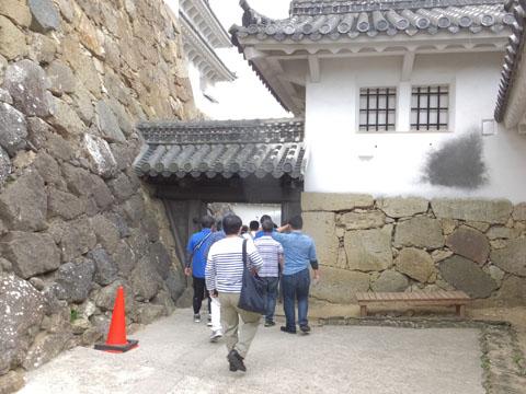 姫路城 水二門