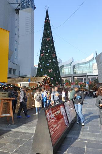 ドイツクリスマスマーケット 大阪 昼