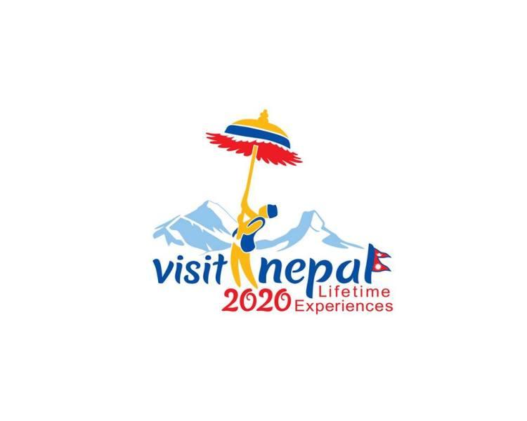 Visit Nepal 2020 Logo