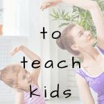 child and teacher doing kids yoga together how to use storytelling to teach kids yoga with kumarah yoga