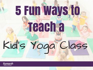 5 Fun Ways to Teach Kids Yoga in a Class