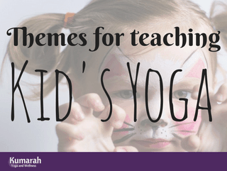 How to Teach Phenomenal Kid's Yoga Classes with Simple Themes