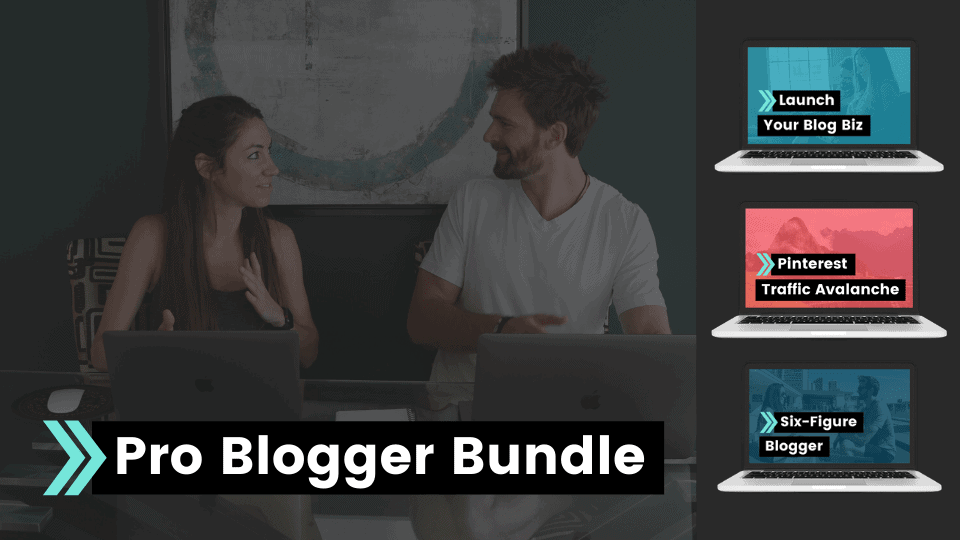 create and go pro blogger bundle, build and launch your blog