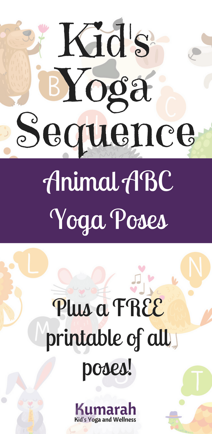 Animal yoga abcs for kids kumarah i have taught animal yoga poses and the yoga abcs in many ways altavistaventures Images