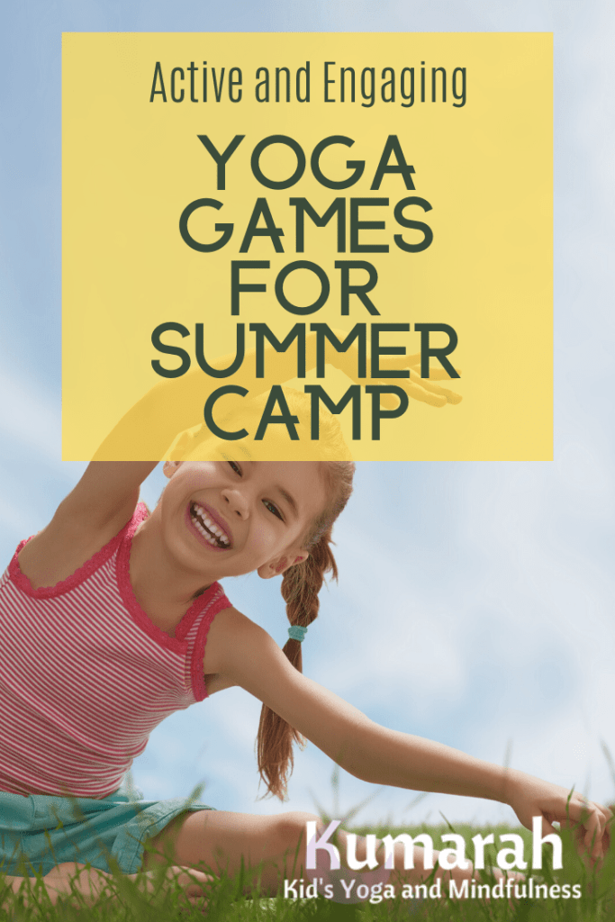 yoga games for kids summer camp