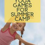 yoga games for kids summer camp