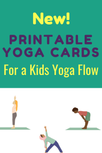 kids yoga poses, yoga sequence for kids, printable yoga cards for kids