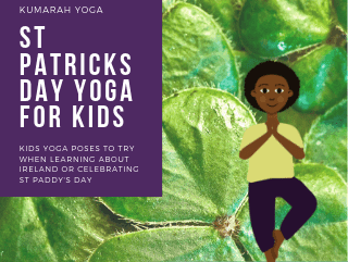Fun Kid's Yoga Poses for St Patrick's Day