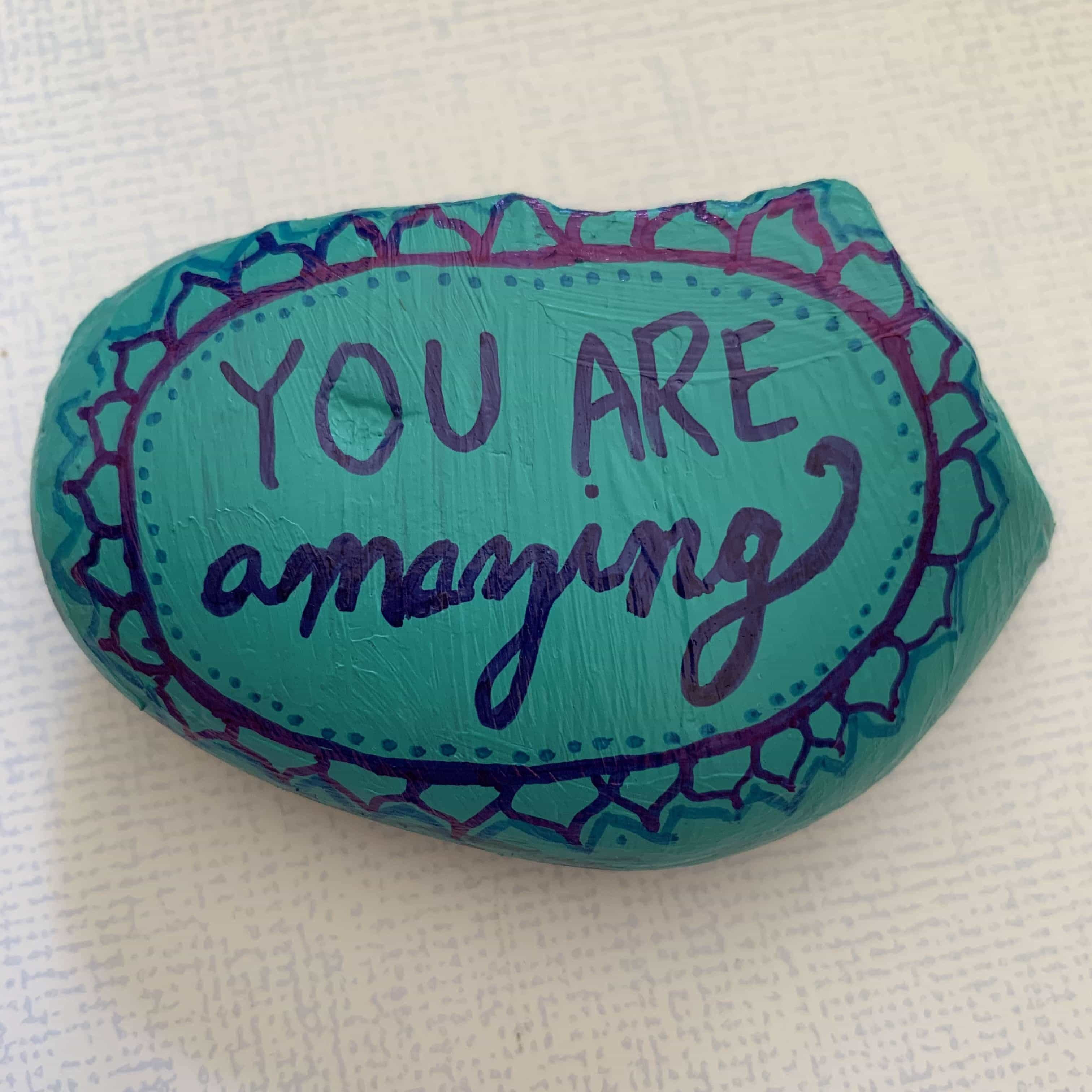 Mindfulness Craft for Kids: Affirmation Stones for Mindfulness and