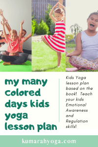 my man colored days kids yoga lesson plan