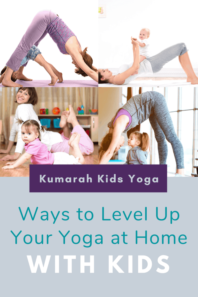 ways to practice yoga at home with kids, kids yoga at home with family and parents