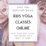 online live and recorded kids yoga classes
