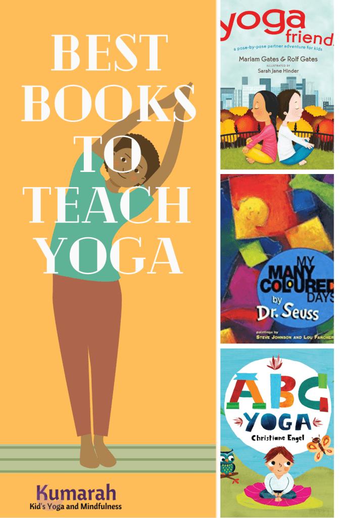 kids yoga books, yoga books for teaching kids, fun list of kids yoga books