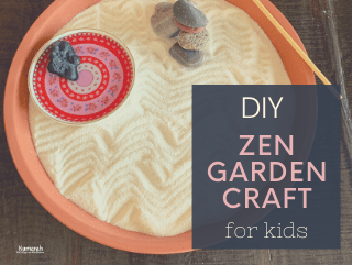 DIY Mindful Zen Garden Craft for Kids