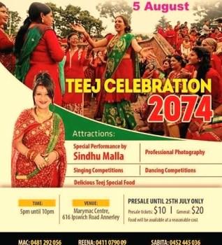 Nepalese Teej Celebration in Brisbane