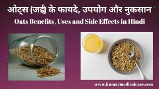 ओट्स (जई) के फायदे, उपयोग और नुकसान । Oats Benefits, Uses and Side Effects in Hindi