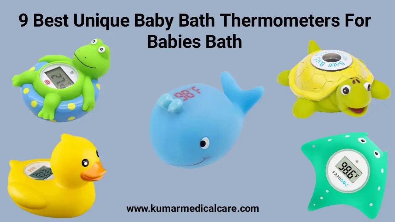 9 Best Unique Baby Bath Thermometers For Babies Bath