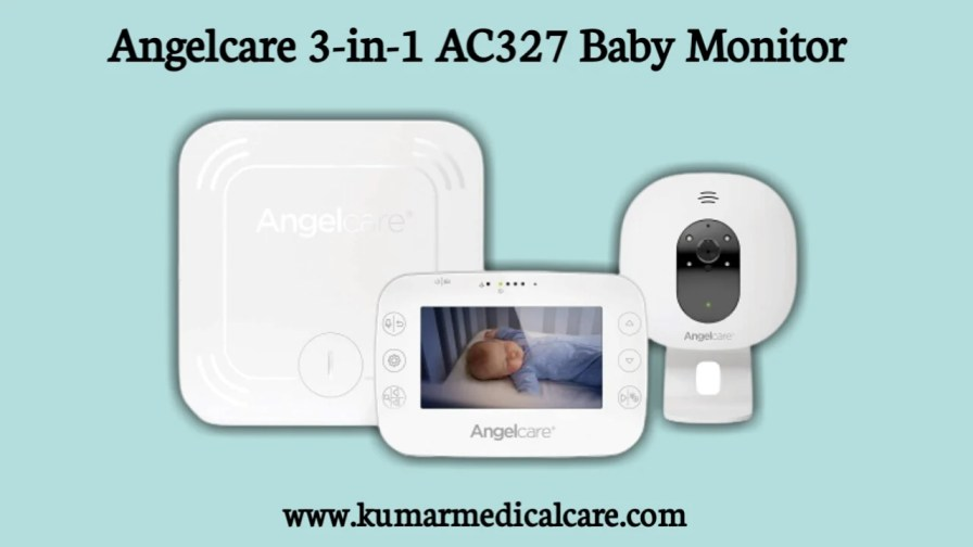 Angelcare 3-in-1 AC527 Baby Monitor