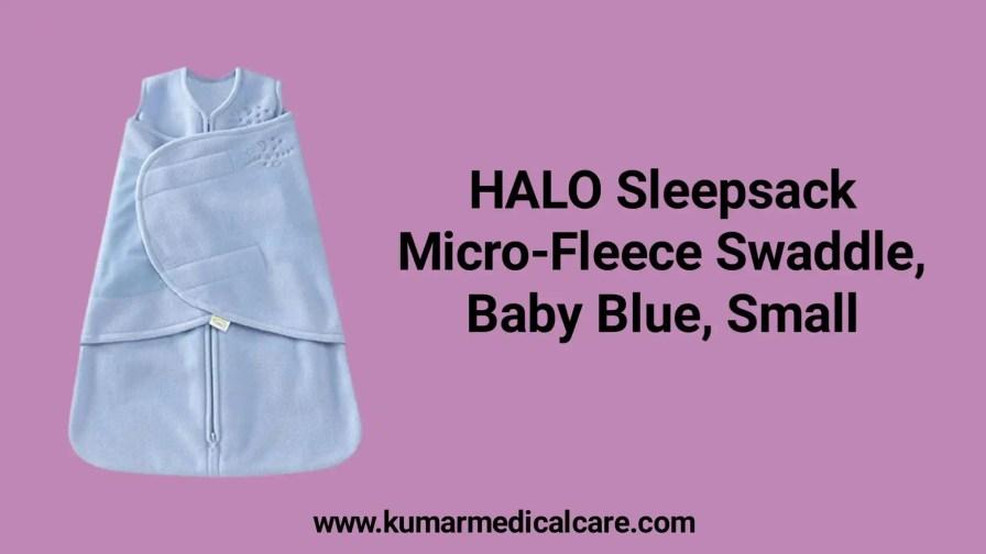 HALO Sleepsack Micro-Fleece Swaddle baby sleeping bag
