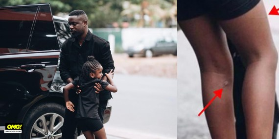 Sarkodie and daughter TITI