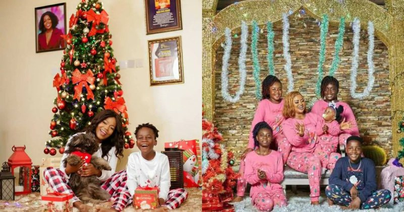 lovely family photos from Ghanaian celebrities