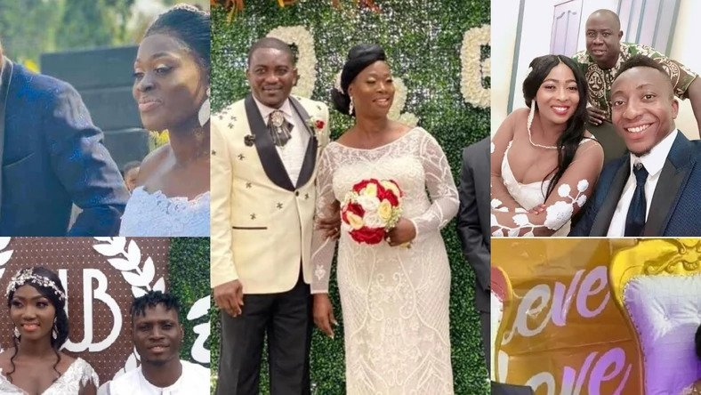 Ghanaian players who got married in 2020