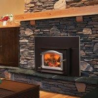 Ashwood Fireplace Insert, Wood Stove Insert by Kuma Stoves
