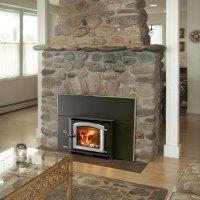 Aspen Fireplace Insert, Wood Stove Insert by Kuma Stoves