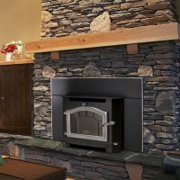 Sequoia Fireplace Insert, Wood Stove Insert by Kuma Stoves
