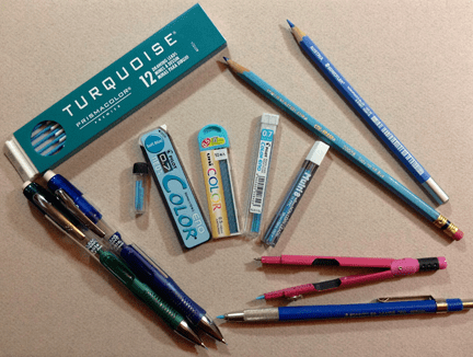 Non-Photo Blue Tools and Supplies